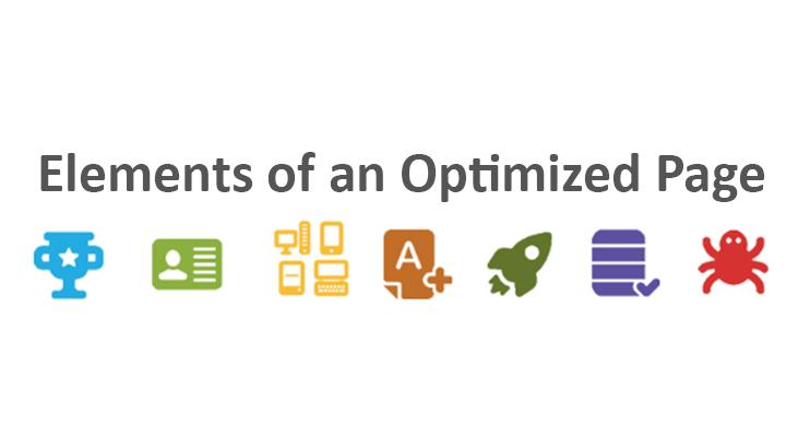Elements of an Optimized Page