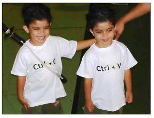 Jumeaux ctrl + c et ctrl + v