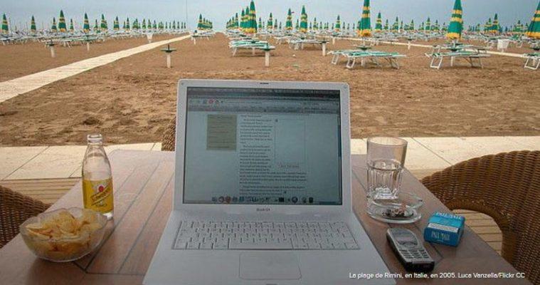 blogger en vacances