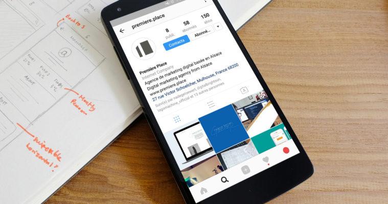 Compte Instagram Première Place