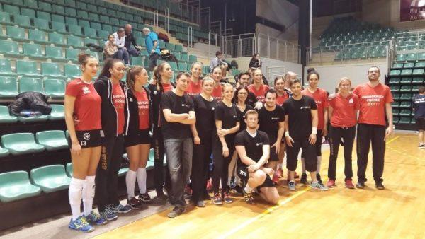 L'équipe Première Place au tournoi des sponsors ASPTT Mulhouse