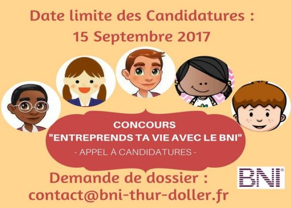Concours pour les étudiants porteurs de projets «Entreprends ta vie avec le BNI»