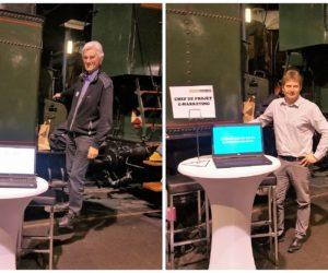 Nuit de l'orientation 2018 à la Cité du Train de Mulhouse
