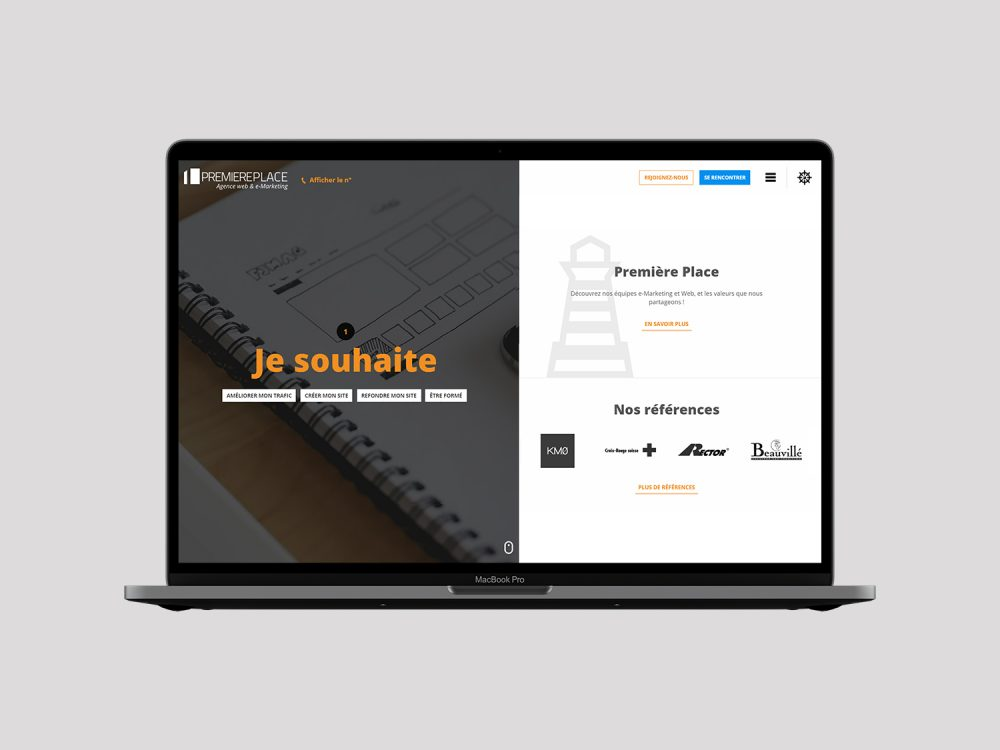 refonte site agence web